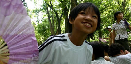 SVI is a non-profit international volunteer organization flishervillagehanoi_children.JPG